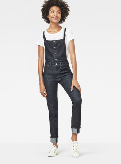 Lanc Straight Overall Prestored Jeans