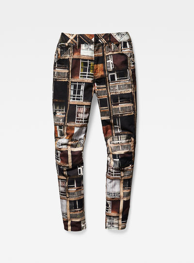 G-Star Elwood 5622 3D Mid-Waist Boyfriend Women's Jeans