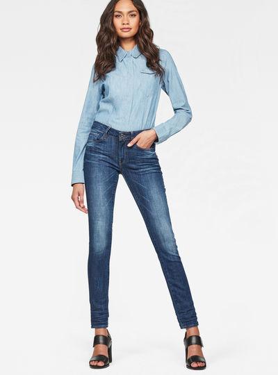 3301 High Waist Skinny Jeans