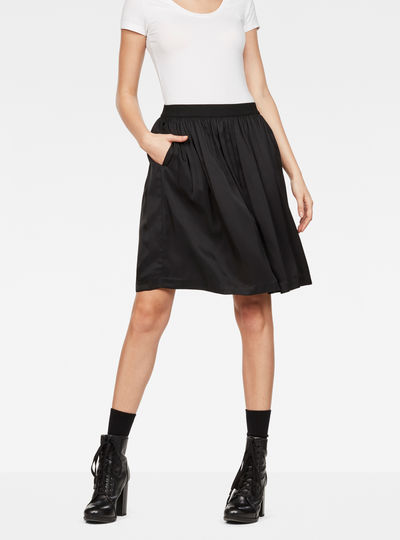 G-Star Flared Midi Skirt
