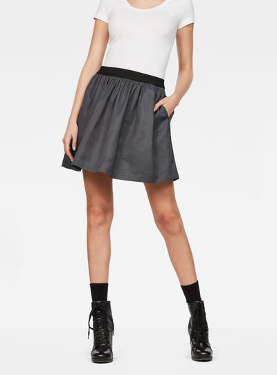 G-Star Flared Mini Skirt