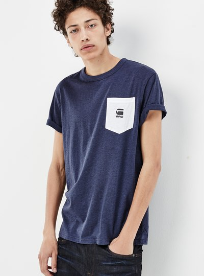 Yarek Contrast Pocket T-shirt