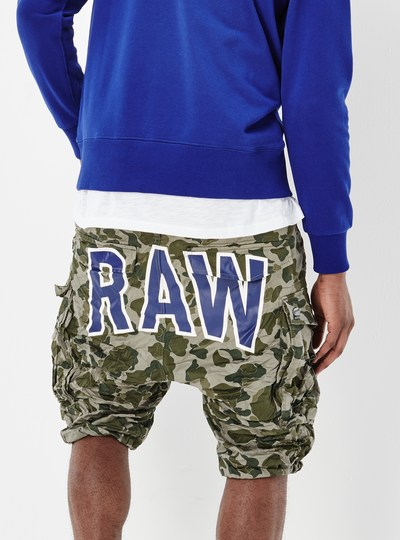 Rovic Art Loose 1/2 Shorts
