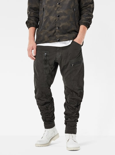 Powel 3D Tapered Cuffed Pants