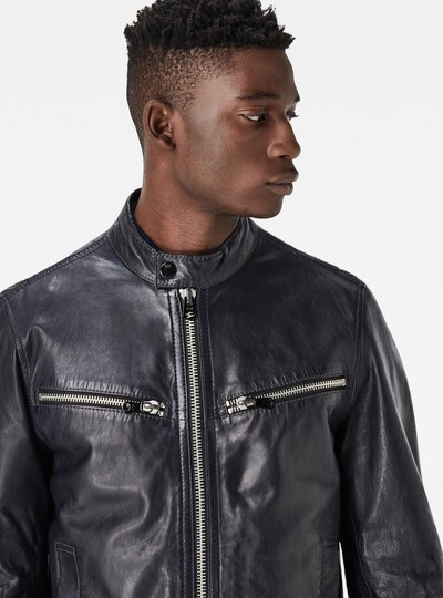 Mower Leather Jacket