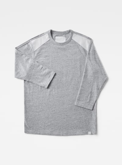 Marc Newson Leather Patch 3/4-Sleeve T-Shirt