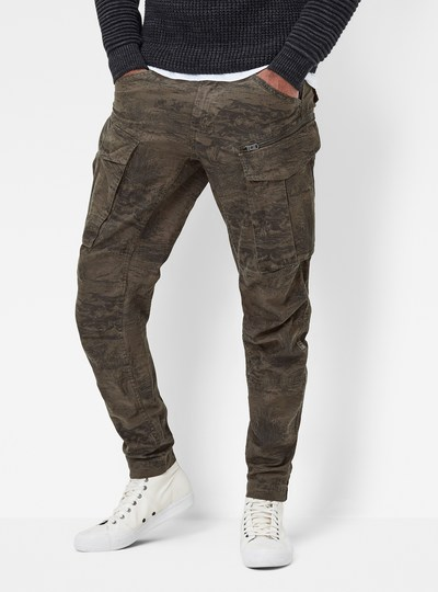 Rovic Zip 3D Tapered Cuffed Pants