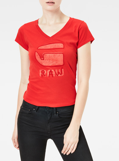 Kostine Slim V-Neck T-Shirt