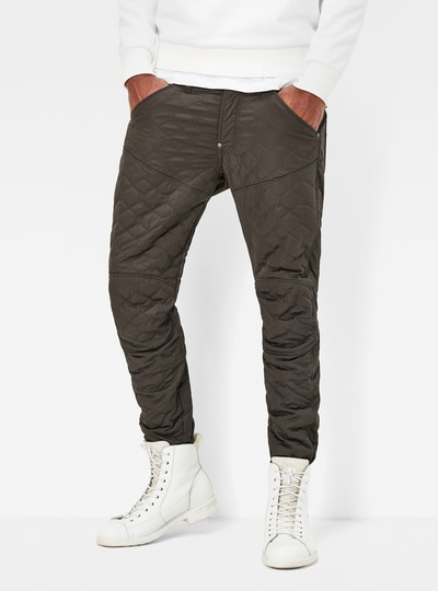 5620 Quilted 3D Tapered Pants