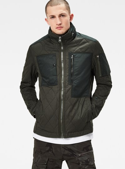 Powel Quilted Slim Overshirt