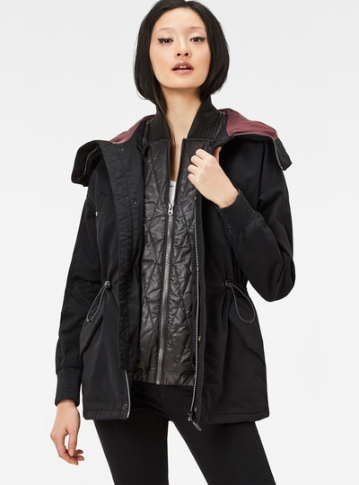 Polax TS Hooded Boyfriend Fit Jacket