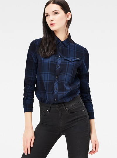 Tacoma Cropped Boyfriend Shirt
