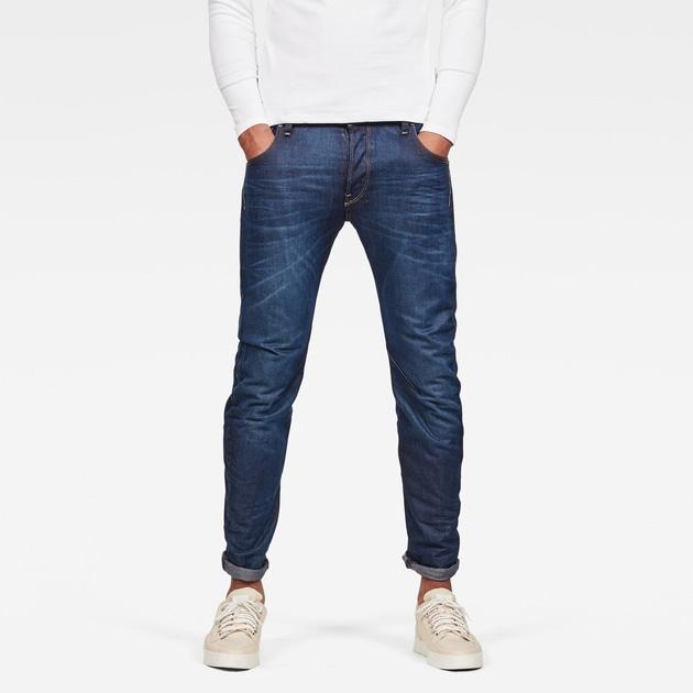 g star raw men jeans arc 3d slim jeans dark aged. Black Bedroom Furniture Sets. Home Design Ideas