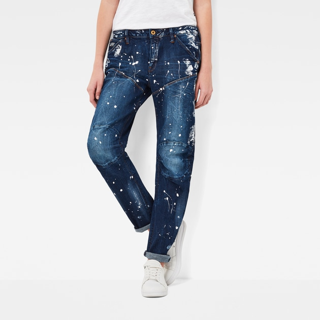 star raw women jeans 5620 g star elwood 3d low waist boyfriend. Black Bedroom Furniture Sets. Home Design Ideas