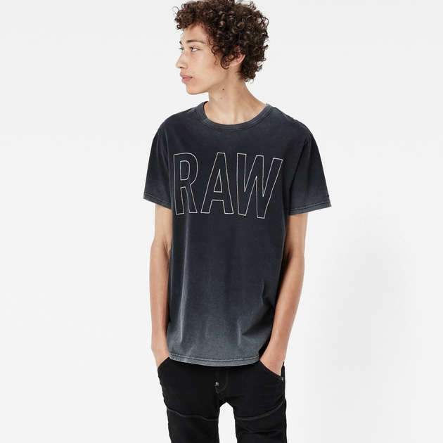star raw men t shirts xard t shirt black. Black Bedroom Furniture Sets. Home Design Ideas