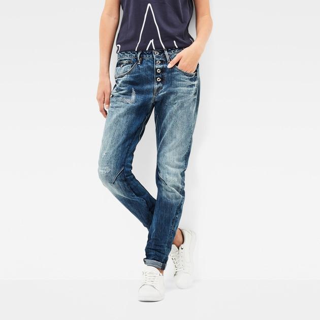 g star raw women jeans arc 3d button low waist jeans dark aged antic restored 91. Black Bedroom Furniture Sets. Home Design Ideas