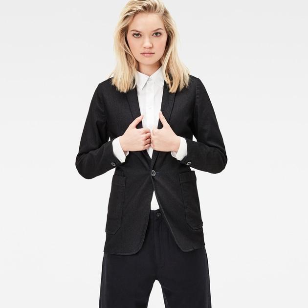 star raw women jackets blazers blake boyfriend blazer. Black Bedroom Furniture Sets. Home Design Ideas
