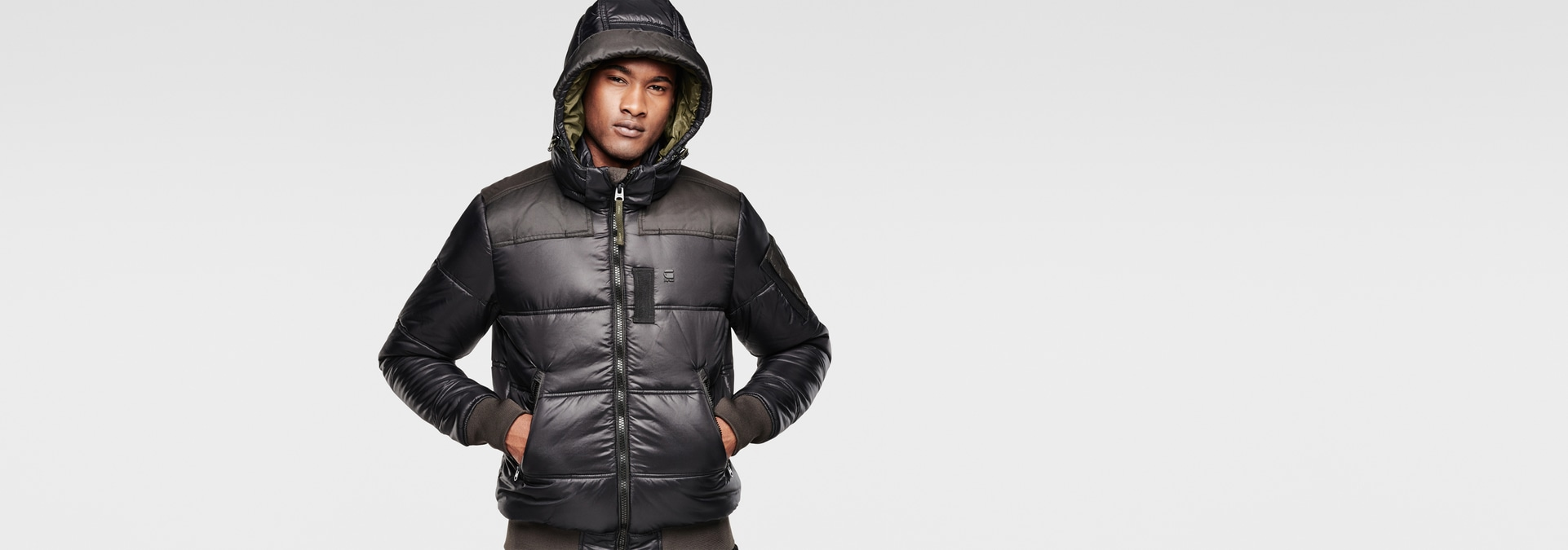 g star raw men winterjackets coats whistler hooded. Black Bedroom Furniture Sets. Home Design Ideas