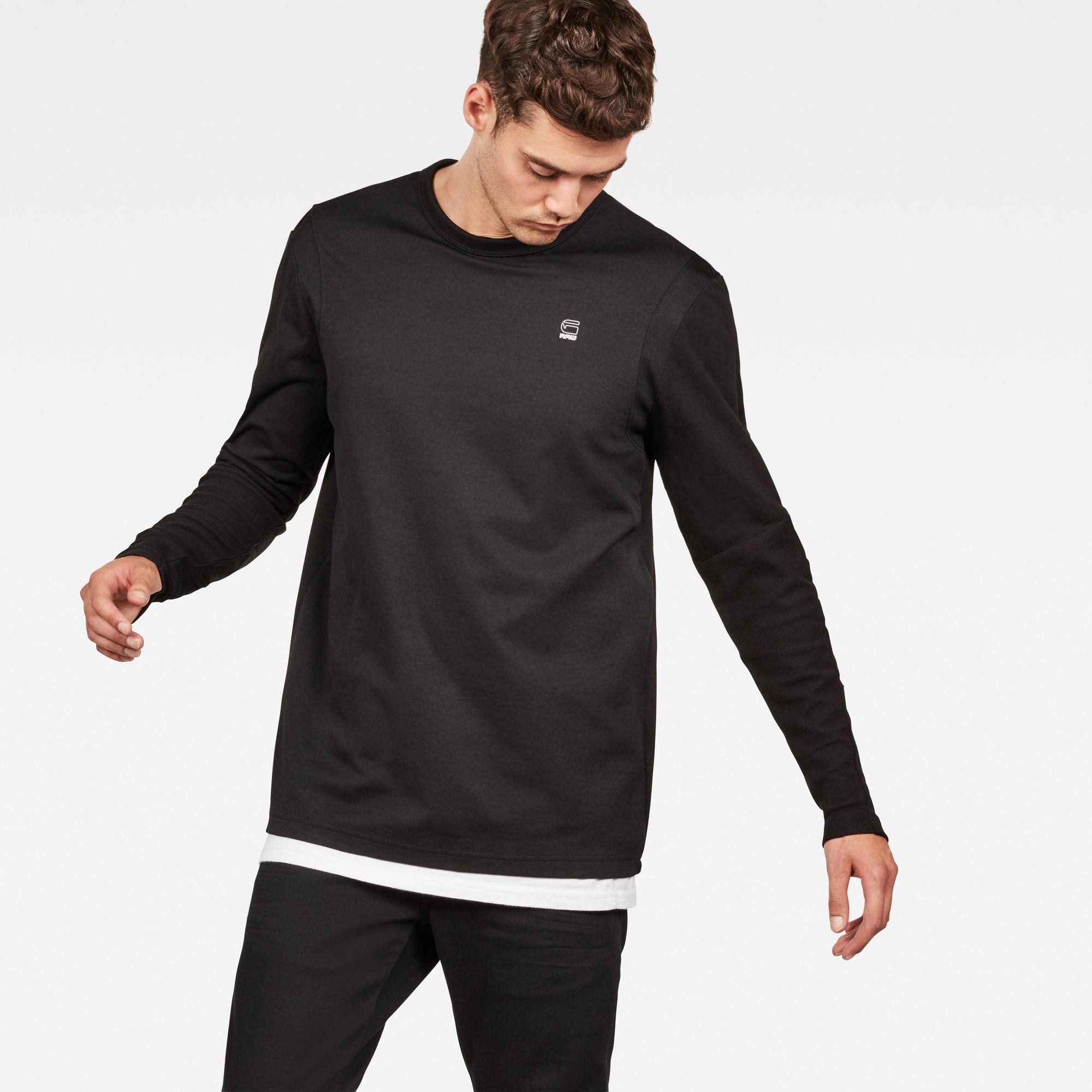 G-Star RAW Heren Motac Dc T-Shirt Zwart