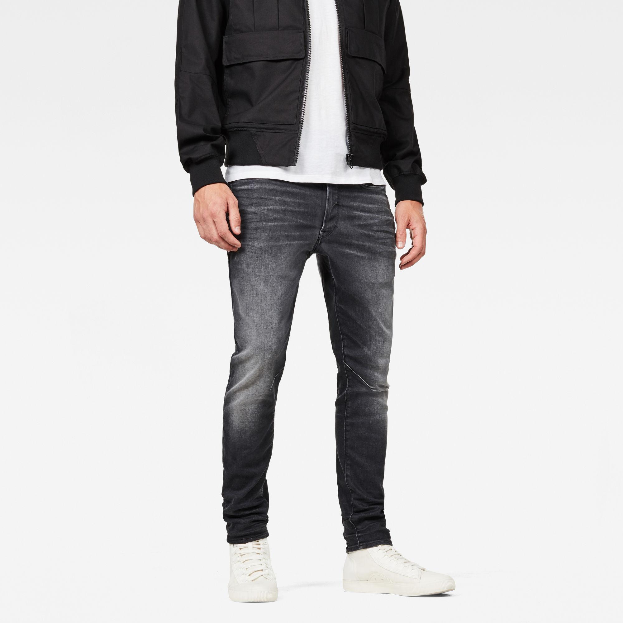G-Star RAW Heren D-Staq 3D Slim Jeans Grijs