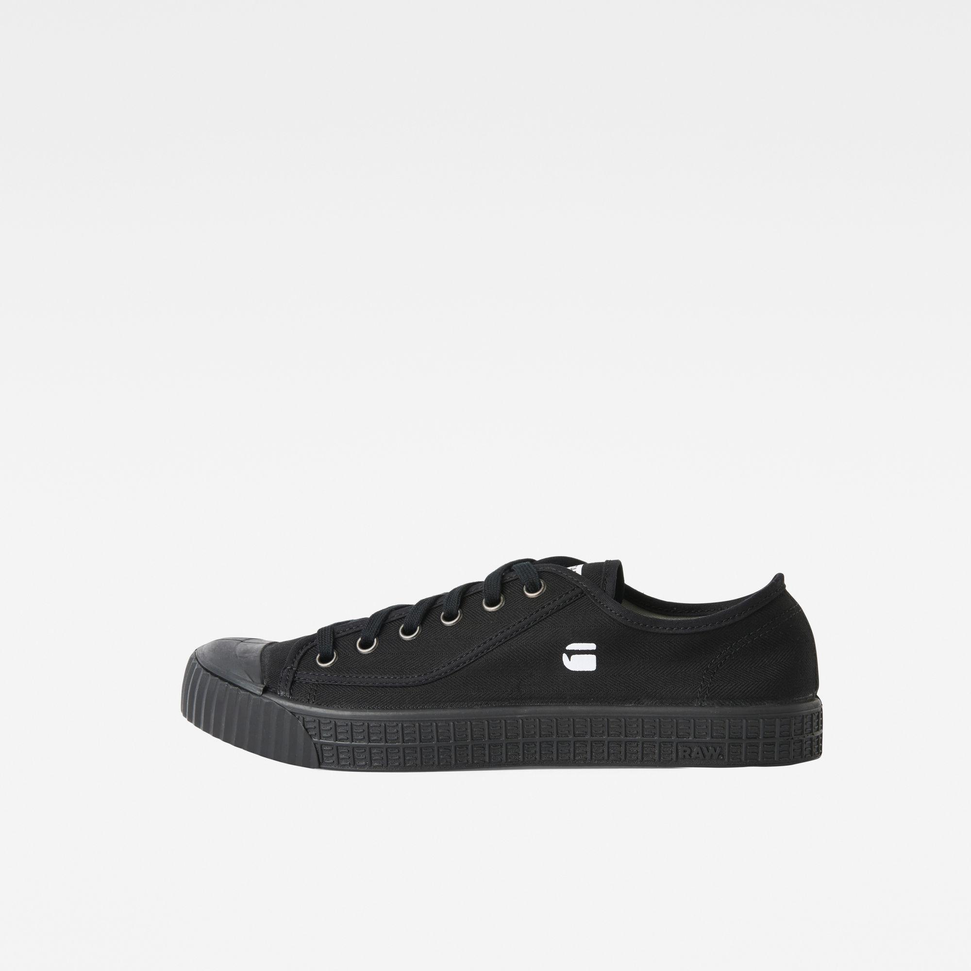 G-Star RAW Heren Rovulc HB Low Sneakers Zwart