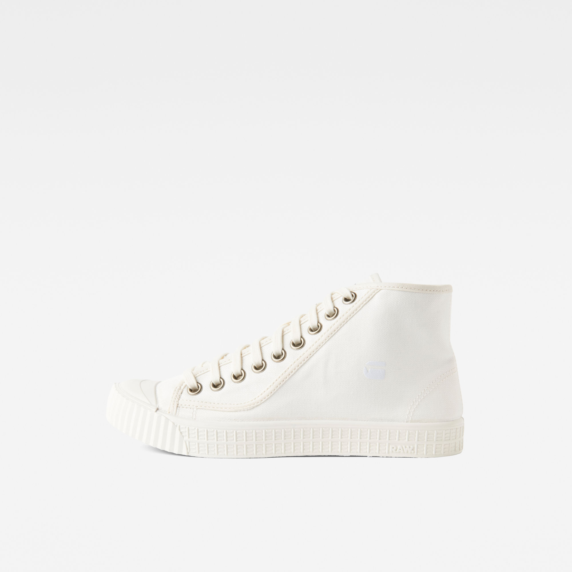 G-Star RAW Heren Rovulc HB Mid Sneakers Wit