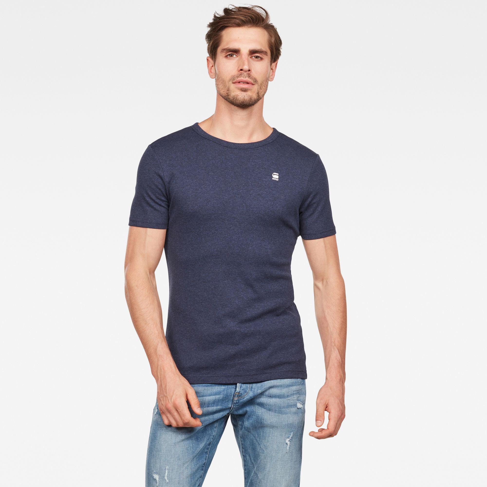 Daplin T-Shirt Donkerblauw