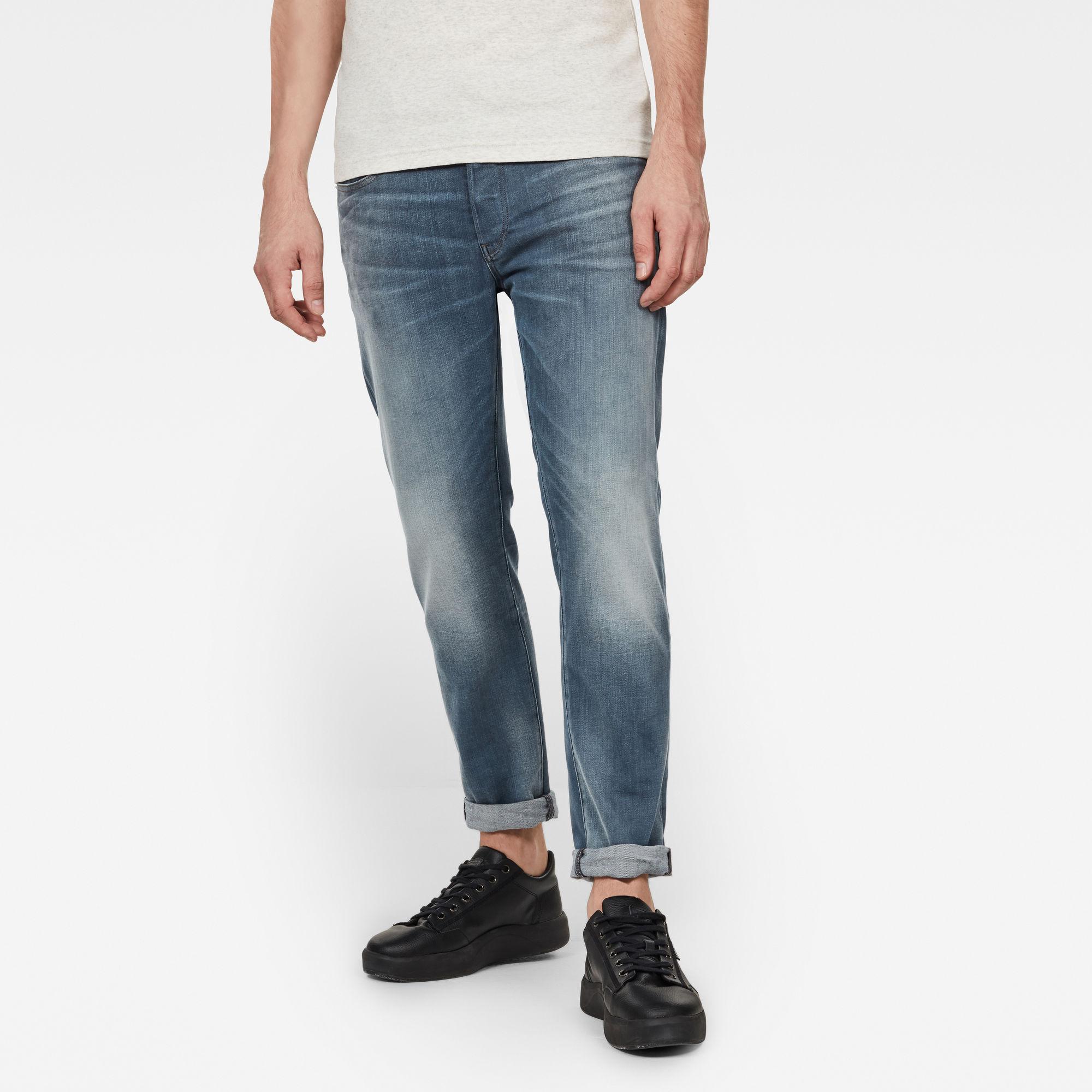 3301 Slim Jeans Lichtblauw