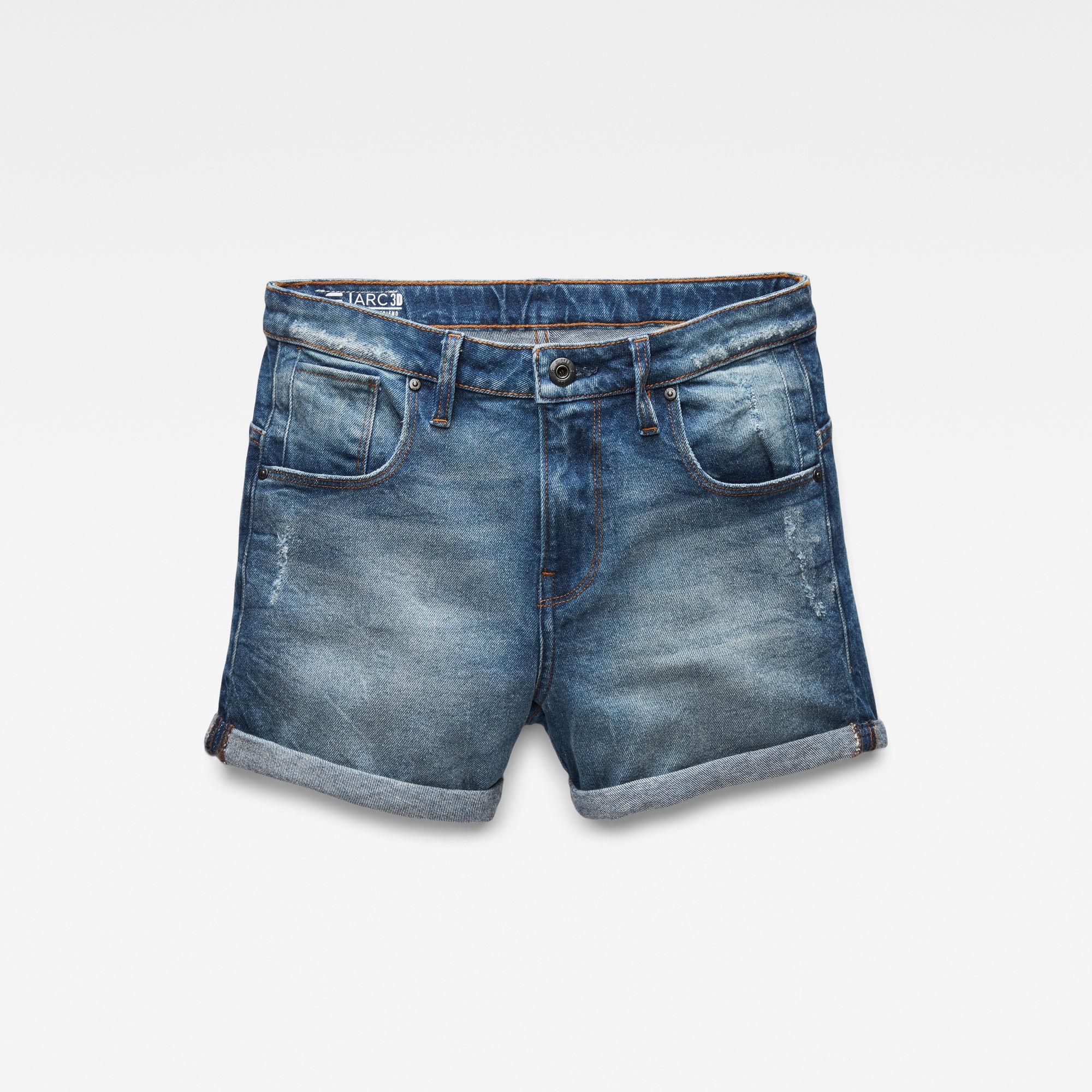 G-Star RAW Niña Shorts Arc Boyfriend Azul oscuro