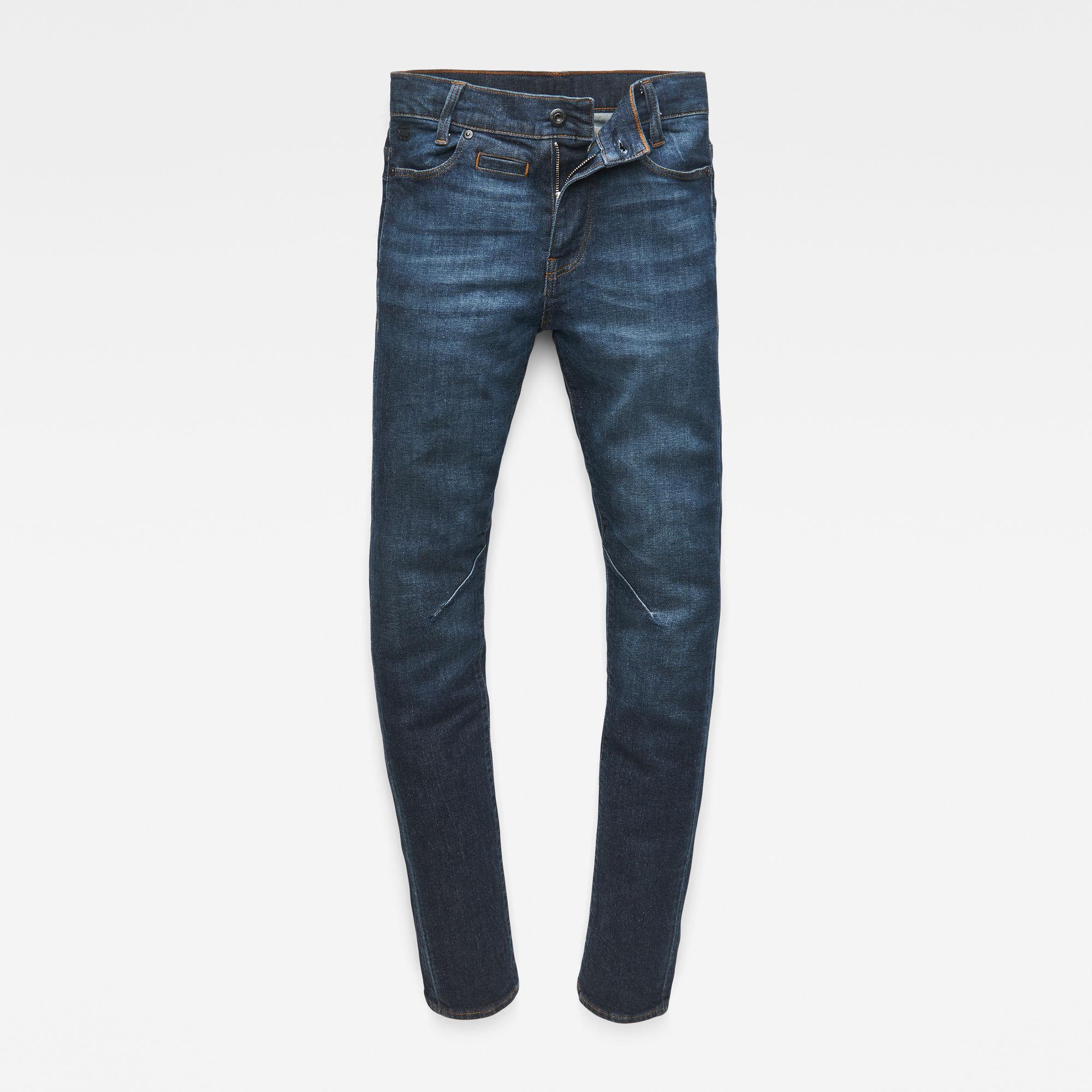 G-Star RAW Jongens D-Staq Skinny Jeans Donkerblauw