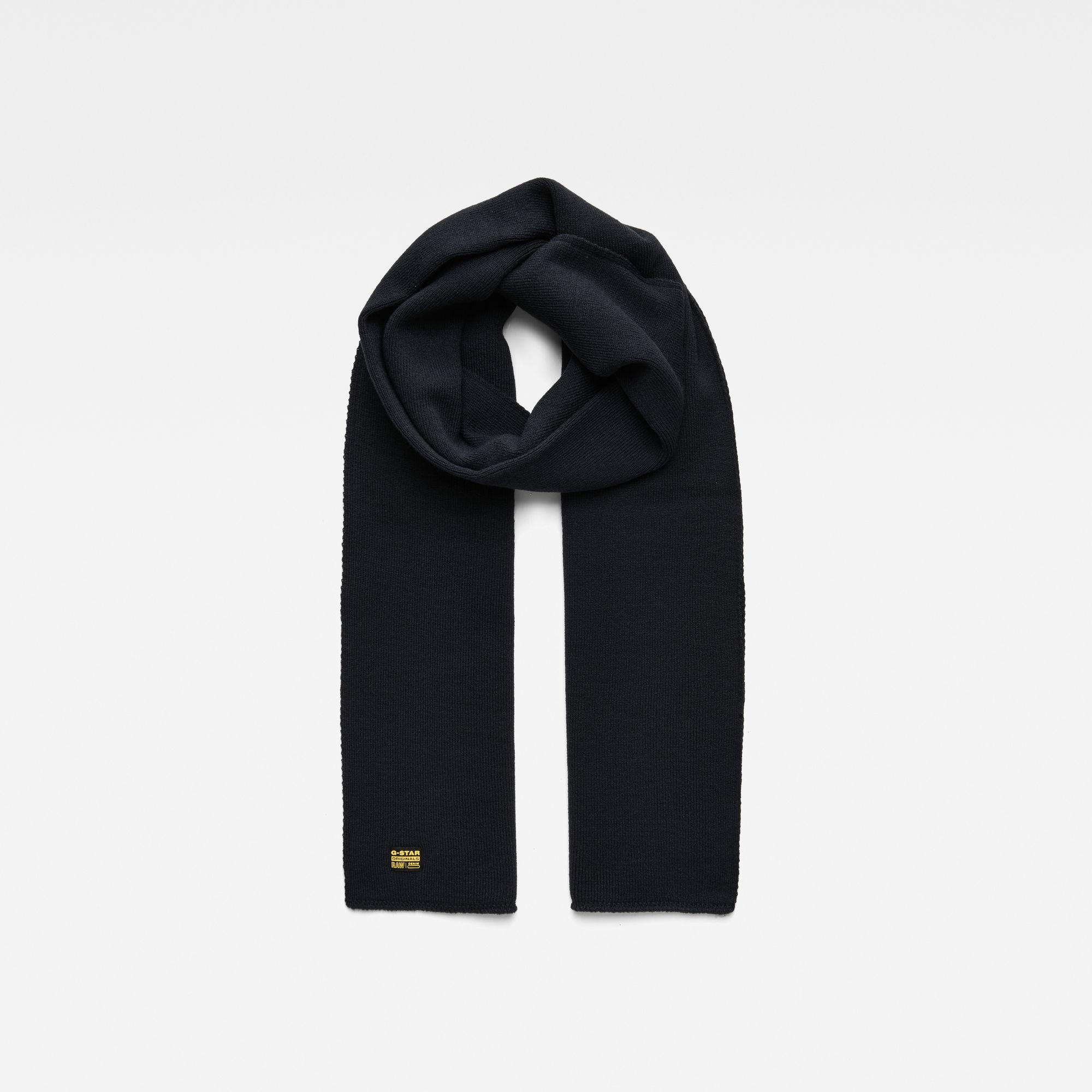 G-Star RAW Heren Effo scarf Donkerblauw