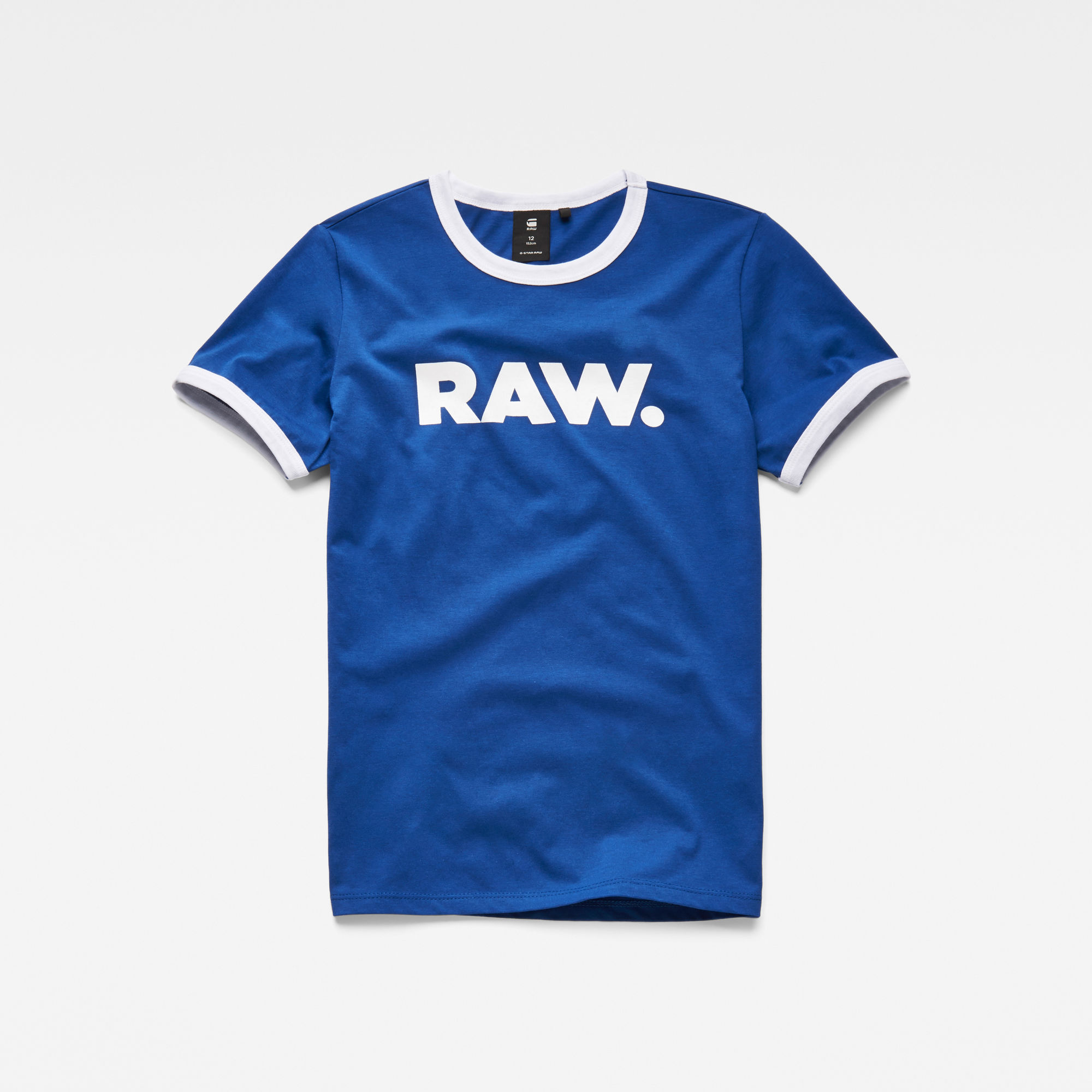 G-Star RAW Niño Camiseta Azul intermedio