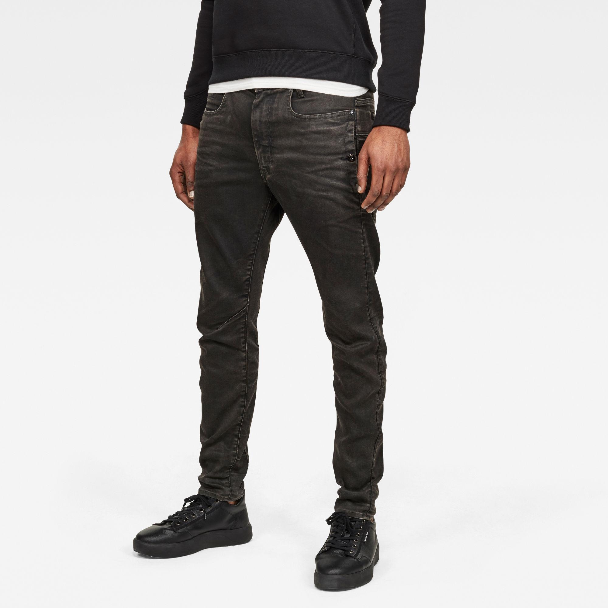 G-Star RAW Heren D-Staq J 3D Slim Jeans Zwart