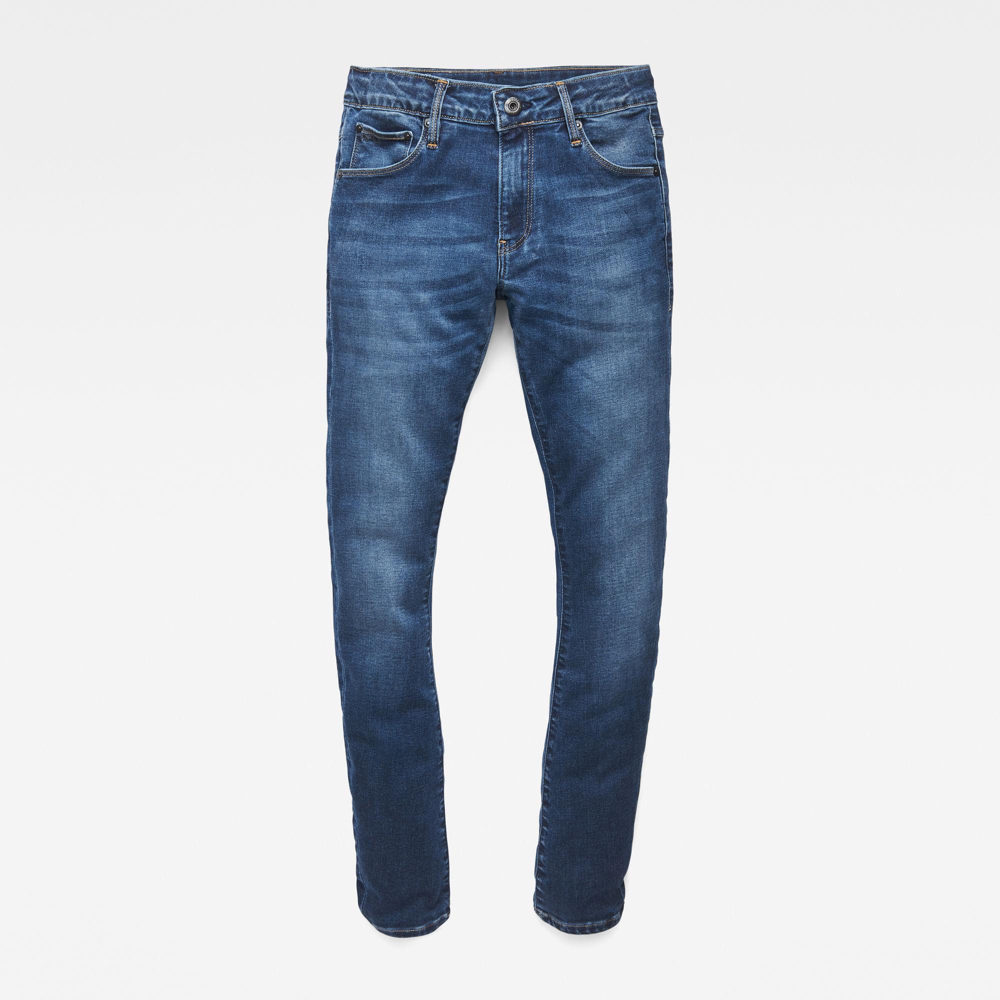 G-Star RAW Meisjes 3301 Super Skinny Jeans Blauw
