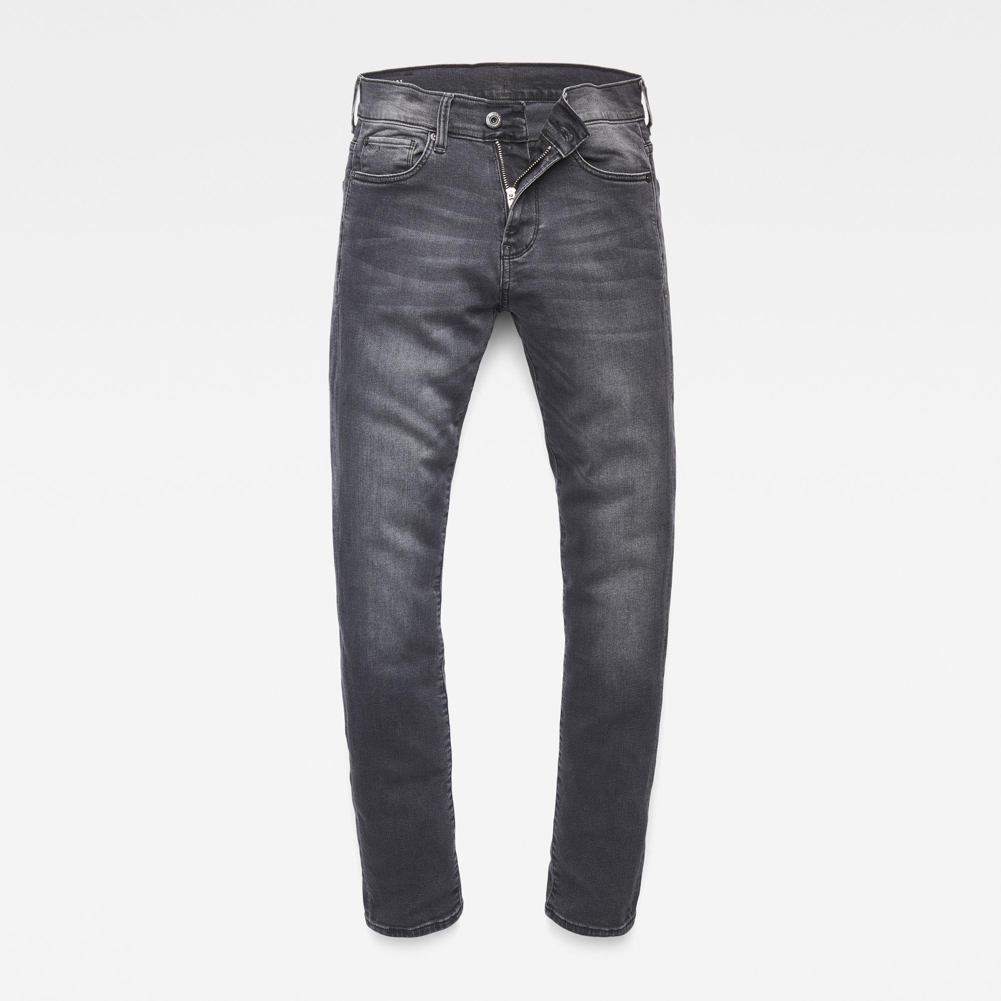 G-Star RAW Jongens 3301 Skinny Jeans Grijs