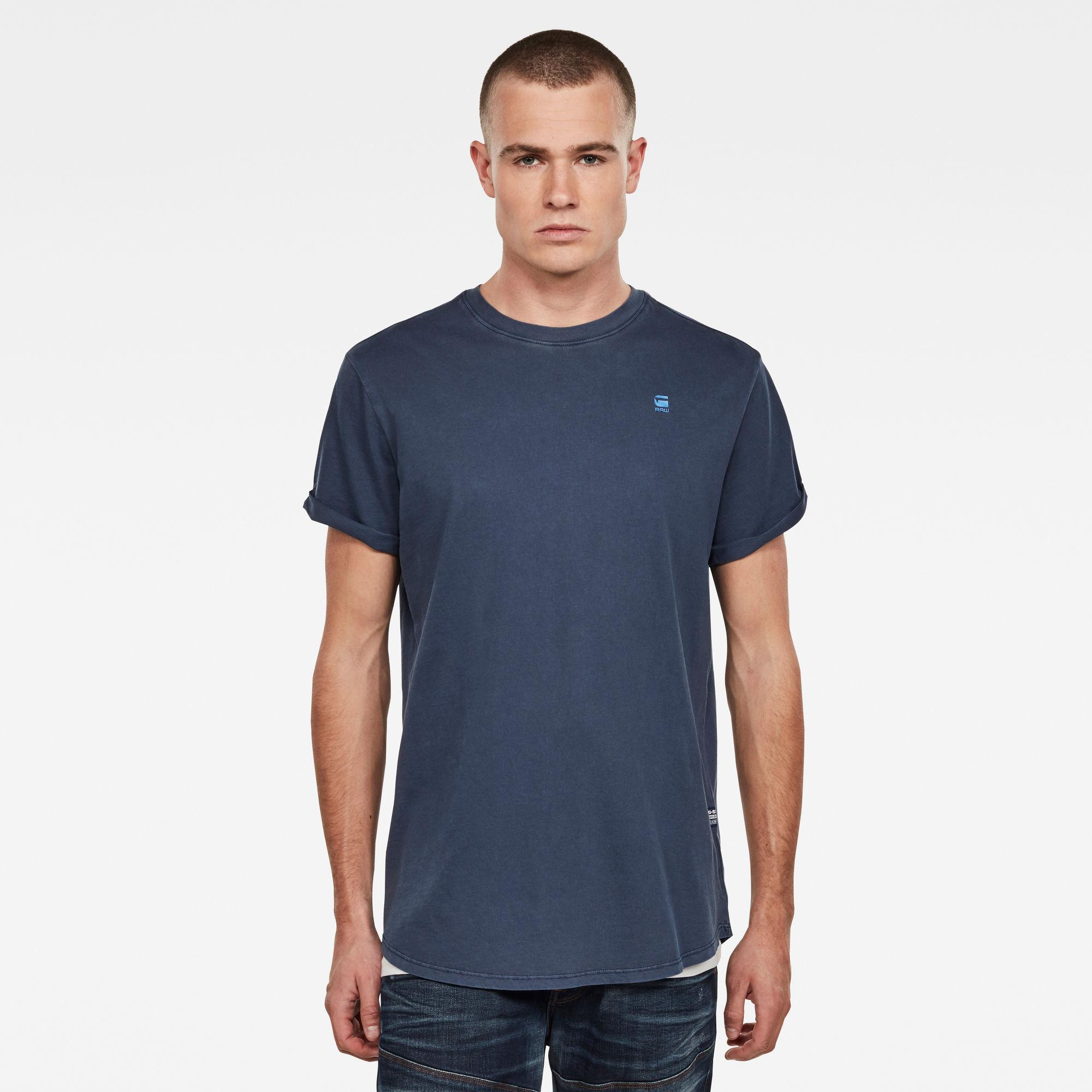 G-Star RAW Heren Lash T-Shirt Donkerblauw