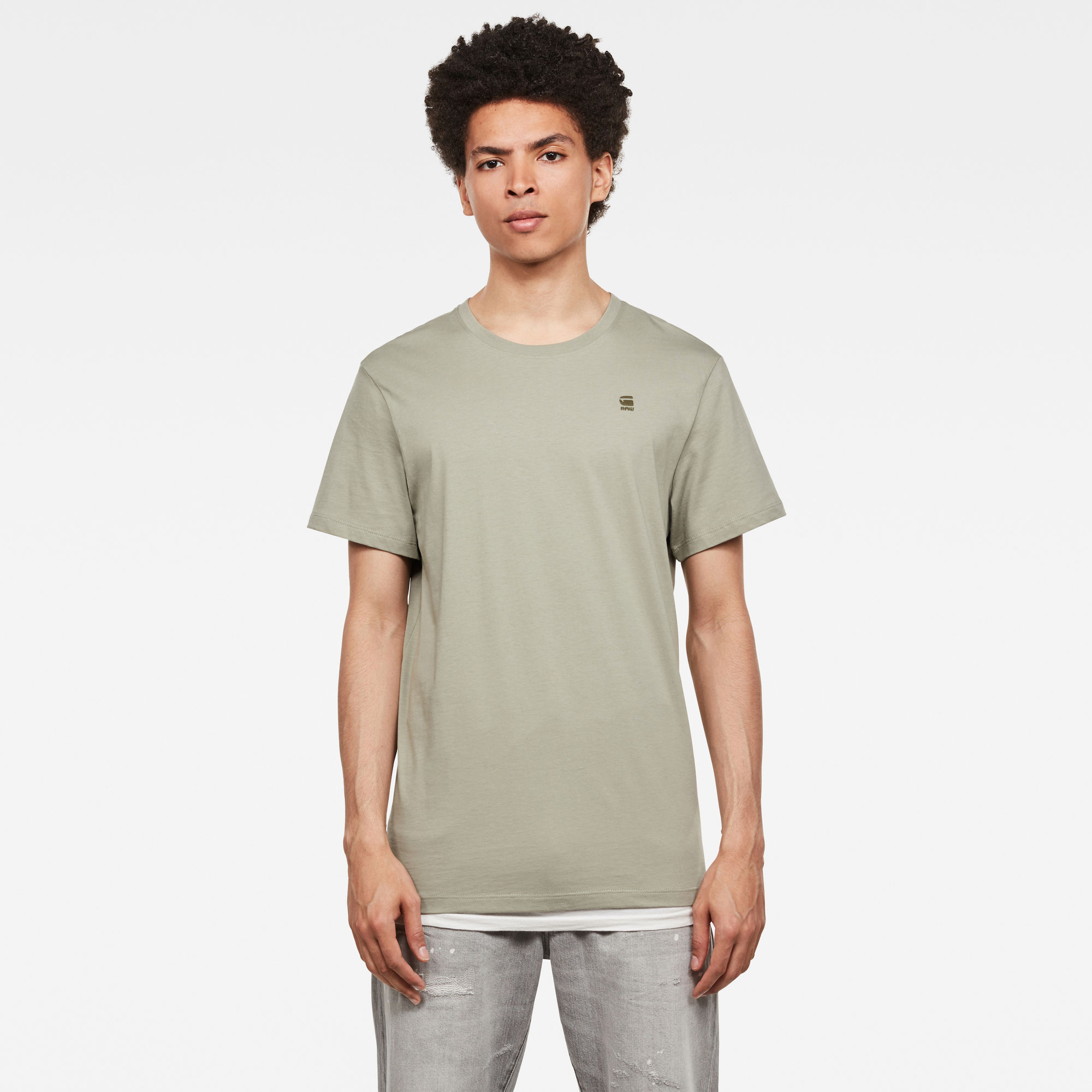 G-Star RAW Heren Base-S T-Shirt Groen