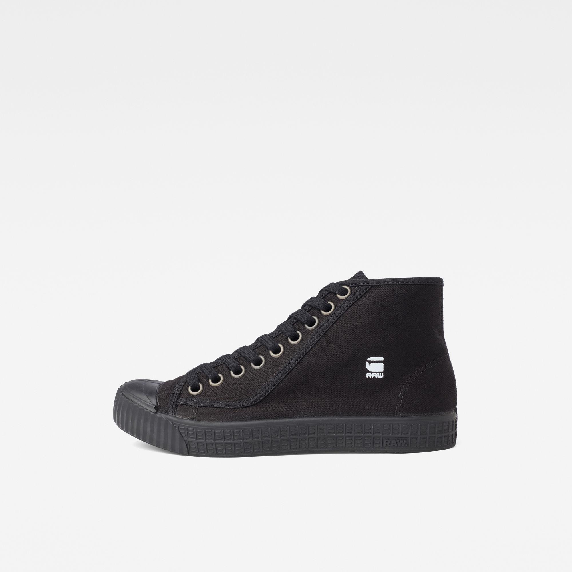 G-Star RAW Dames Rovulc HB Mid Sneakers Zwart