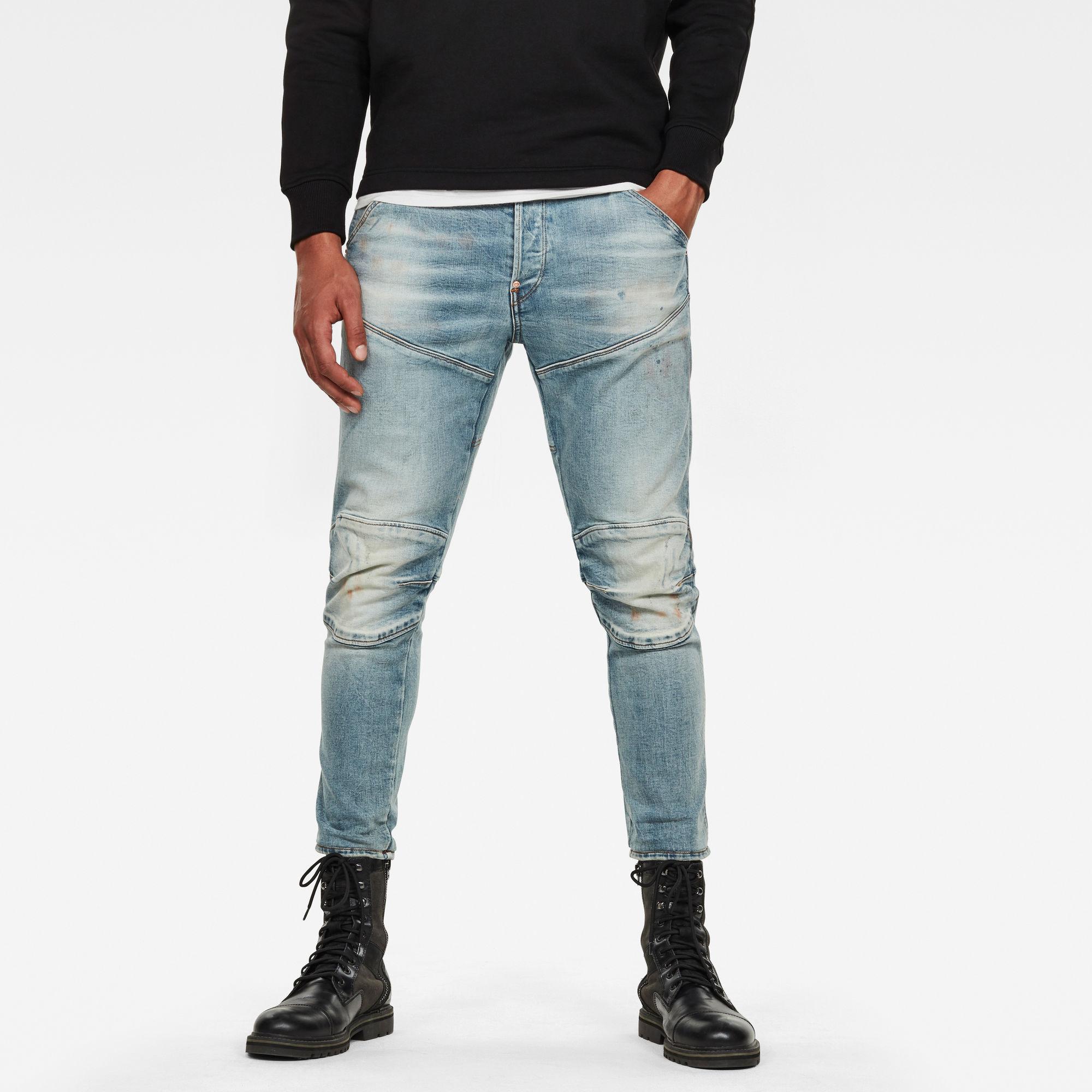 G-Star RAW Heren 5620 3D Slim Jeans Blauw