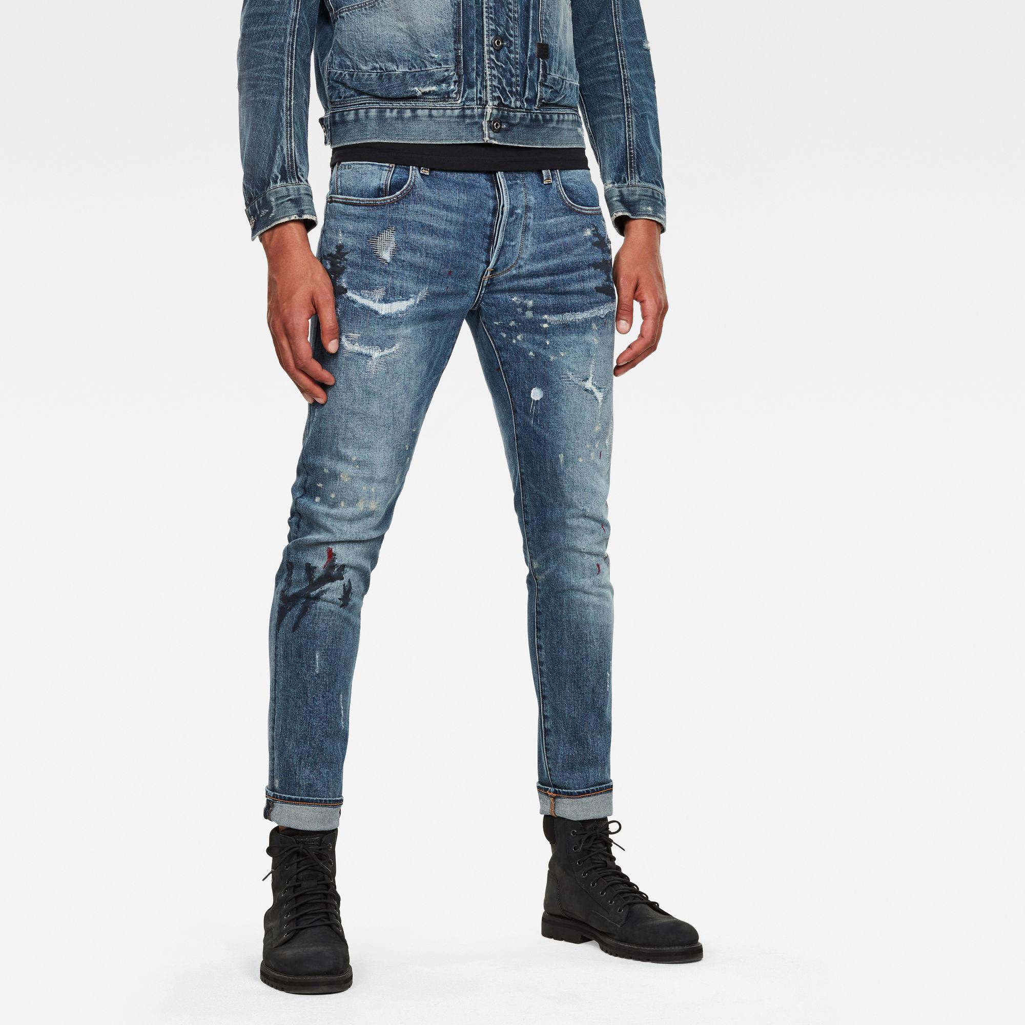 pantalón hombre g-star: Jeans 3301 Slim Azul claro 3