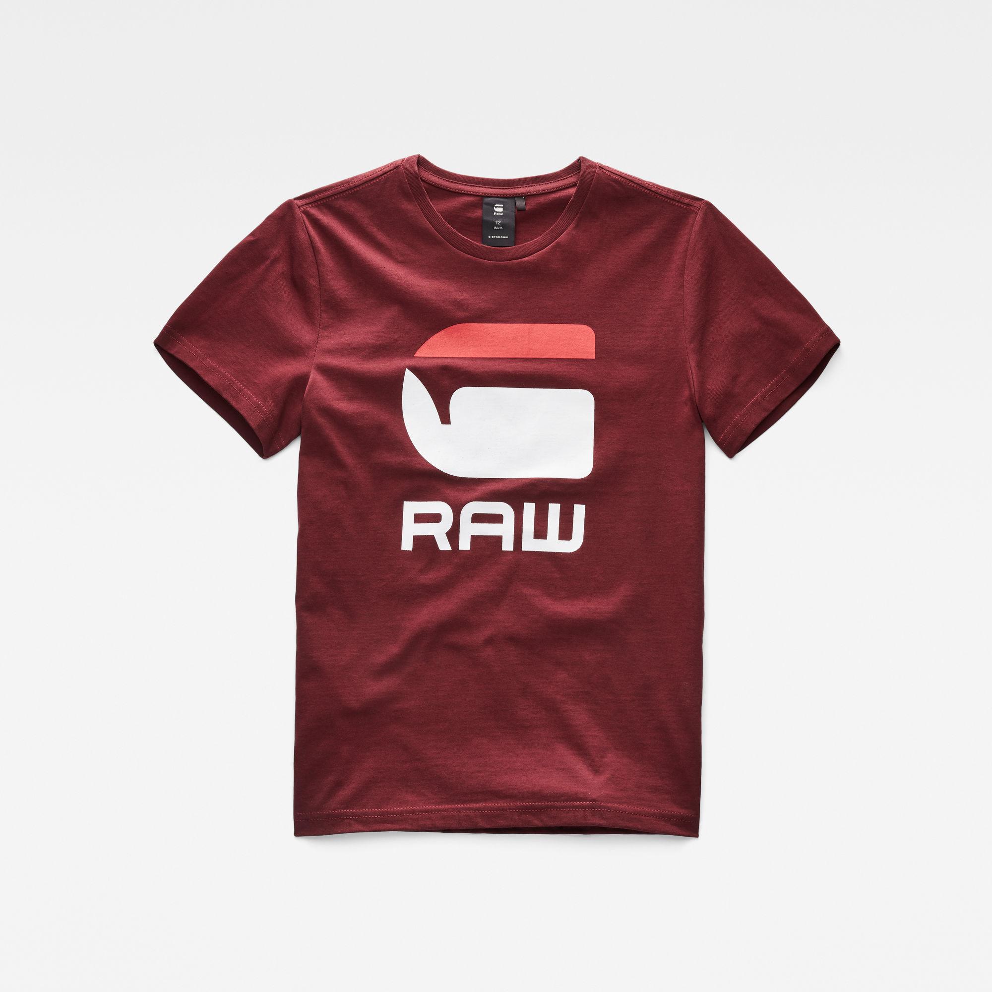 G-Star RAW Jongens T-shirt Rood