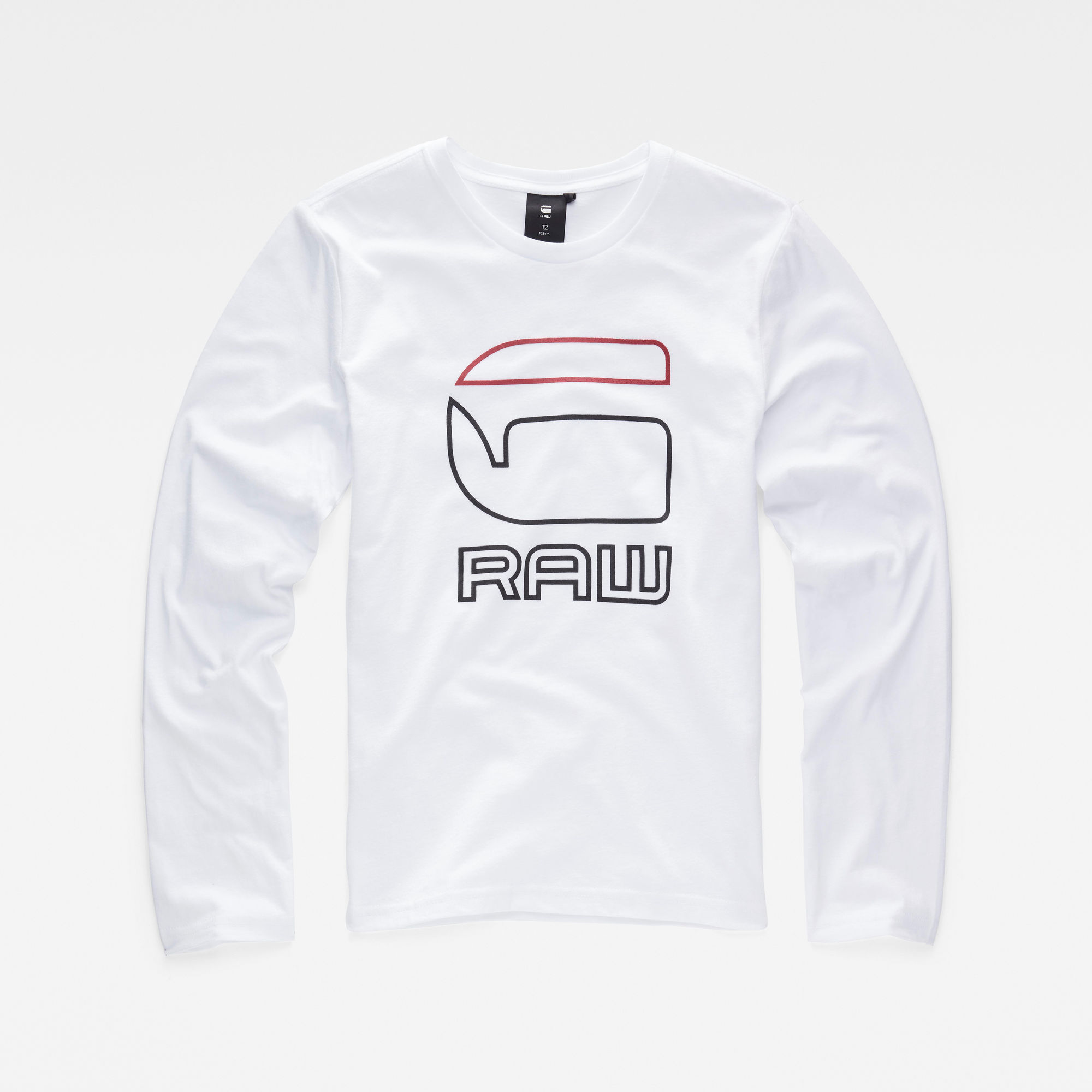 G-Star RAW Jongens T-shirt Wit