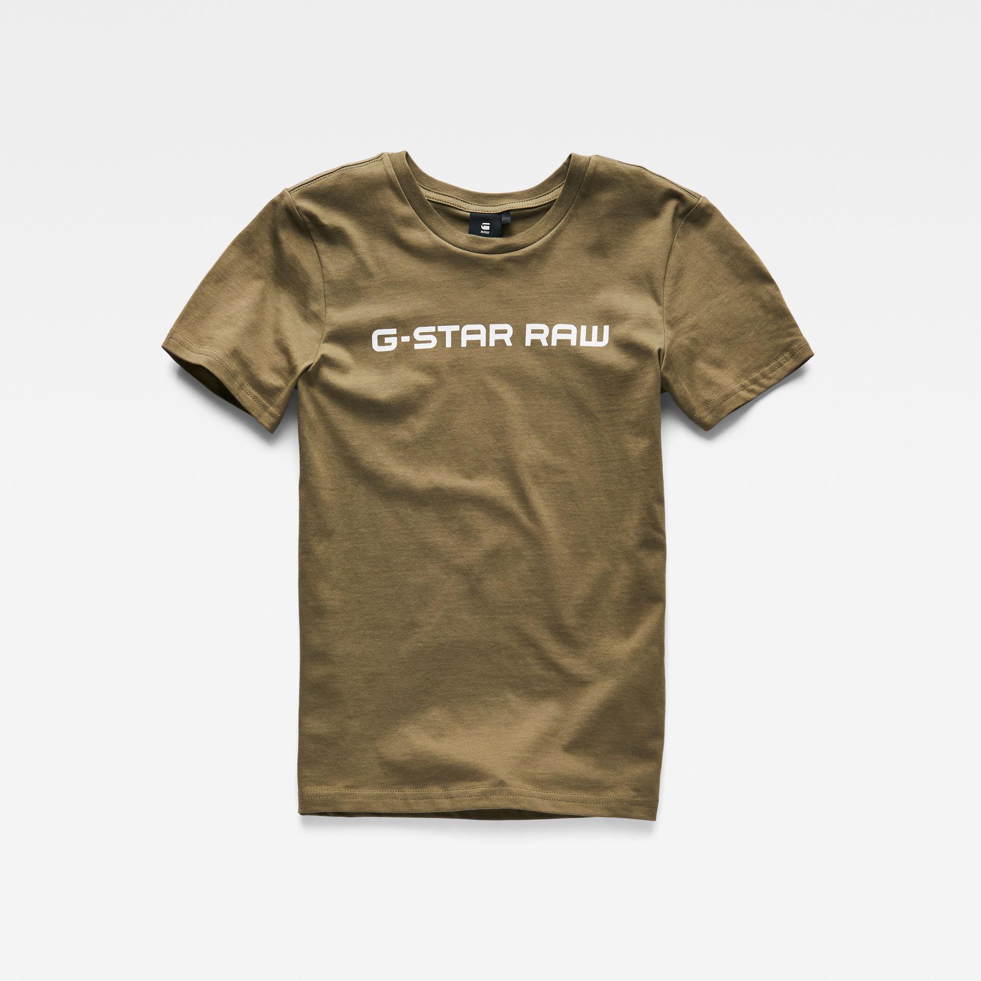 G-Star RAW Jongens T-shirt Groen