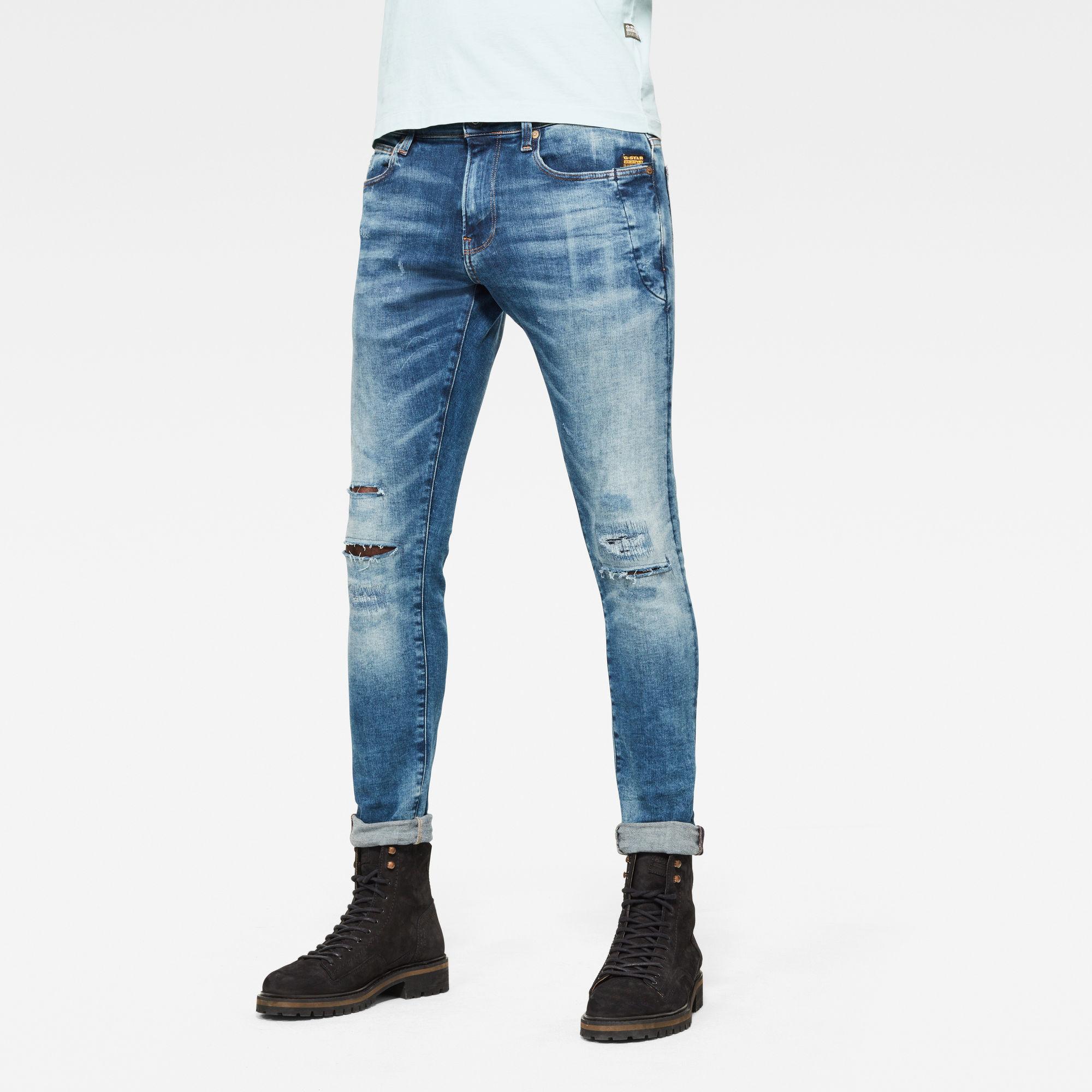 4101 Lancet Skinny Jeans Blauw