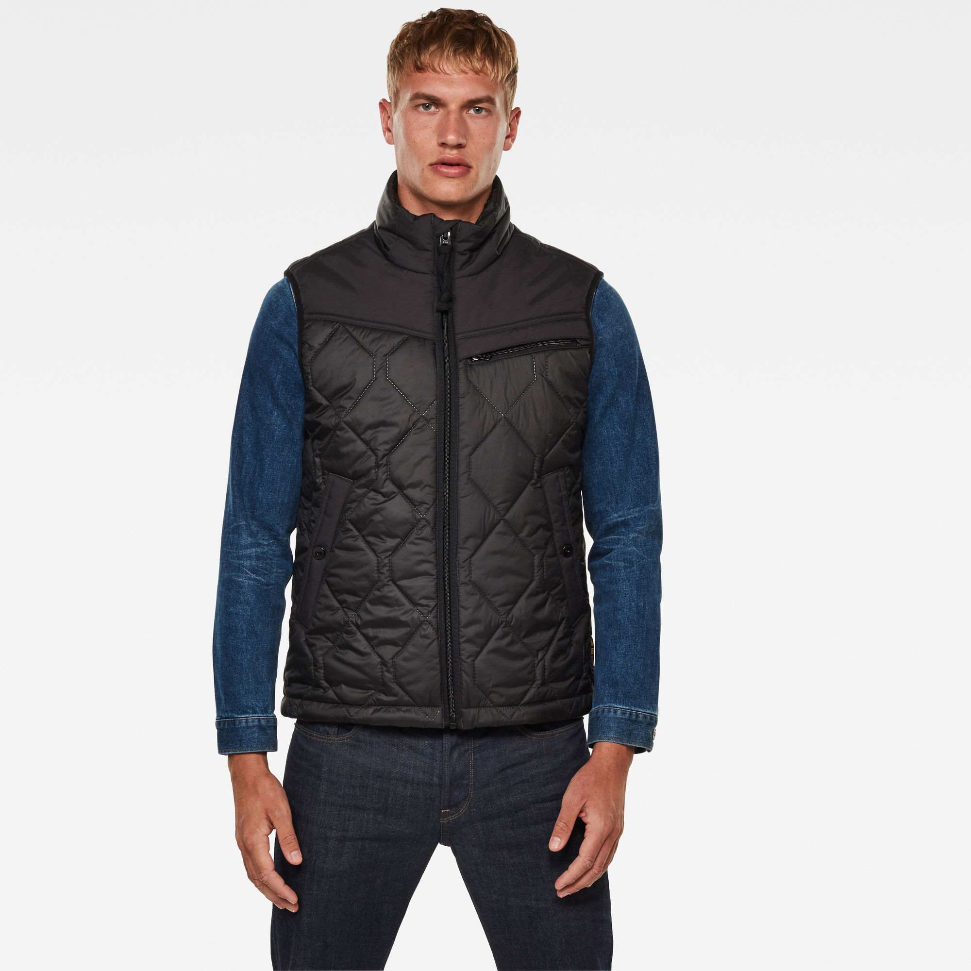 G-Star RAW Hombre Chaleco Attacc Heatseal