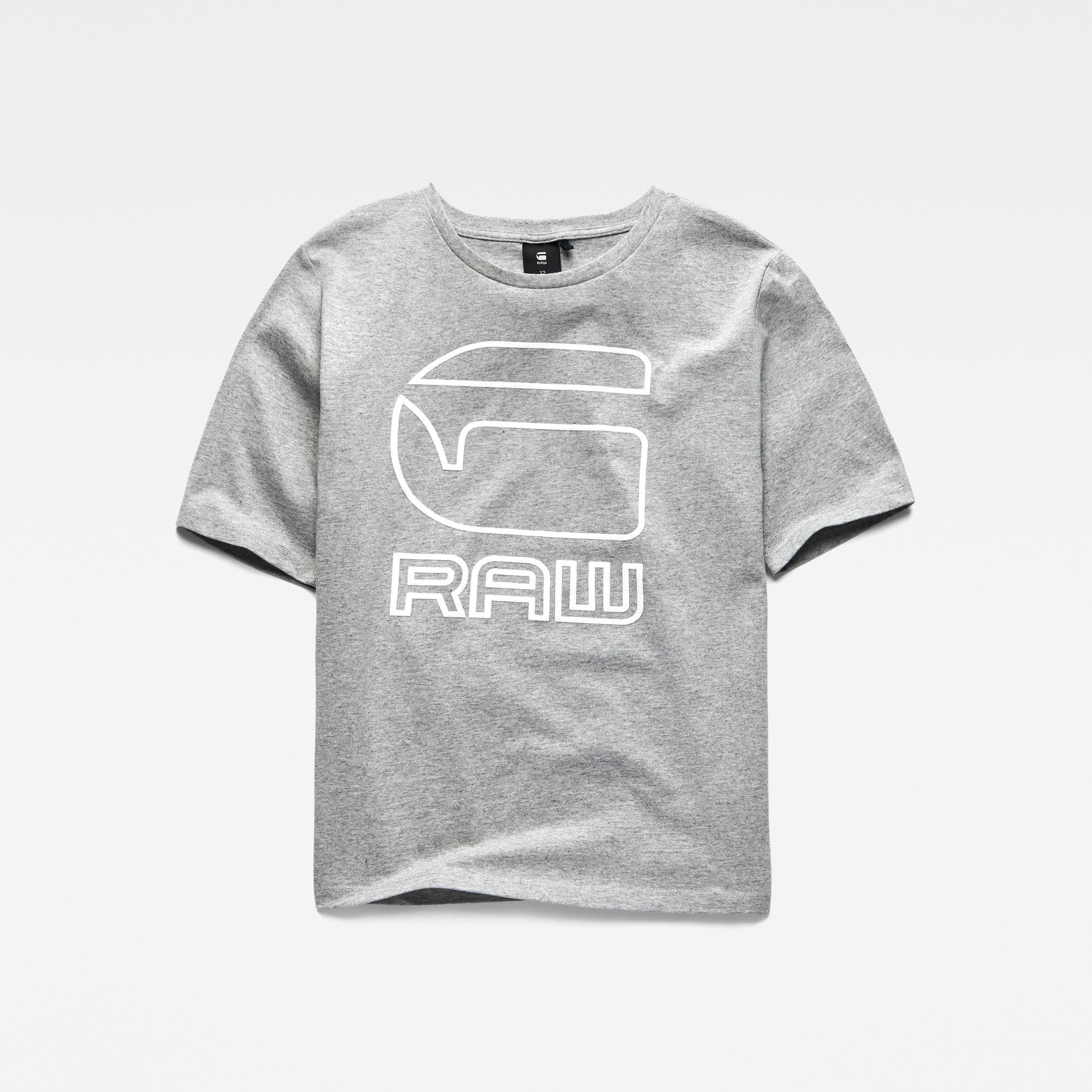 G-Star RAW Meisjes T-shirt Grijs