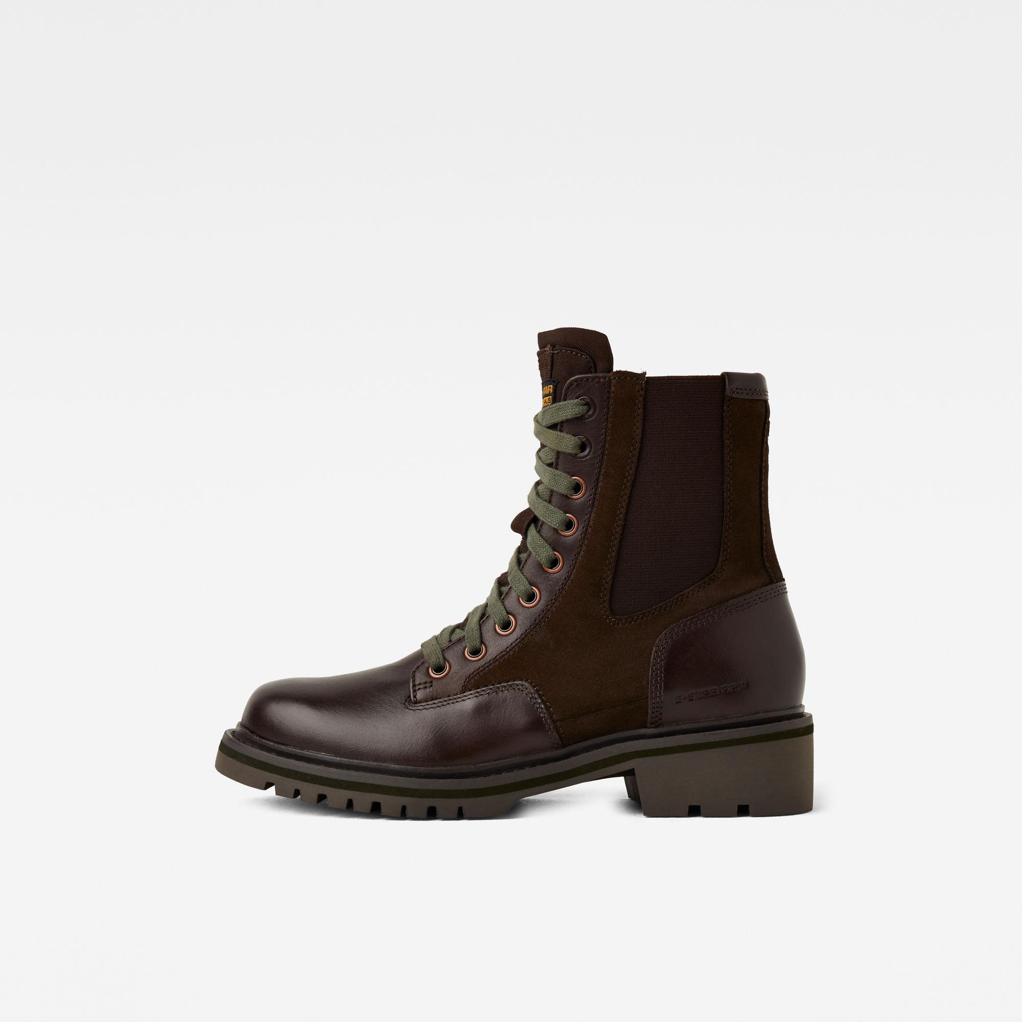 G-Star RAW Dames Core Boots II Bruin