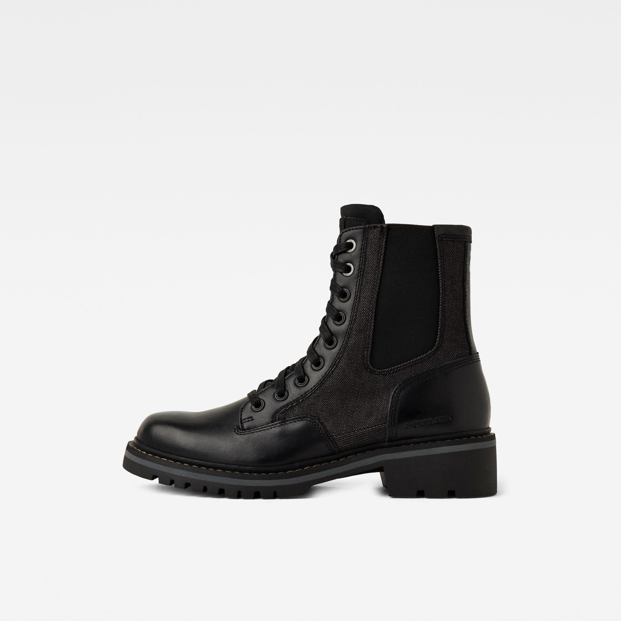 G-Star RAW Dames Core Boots II Zwart