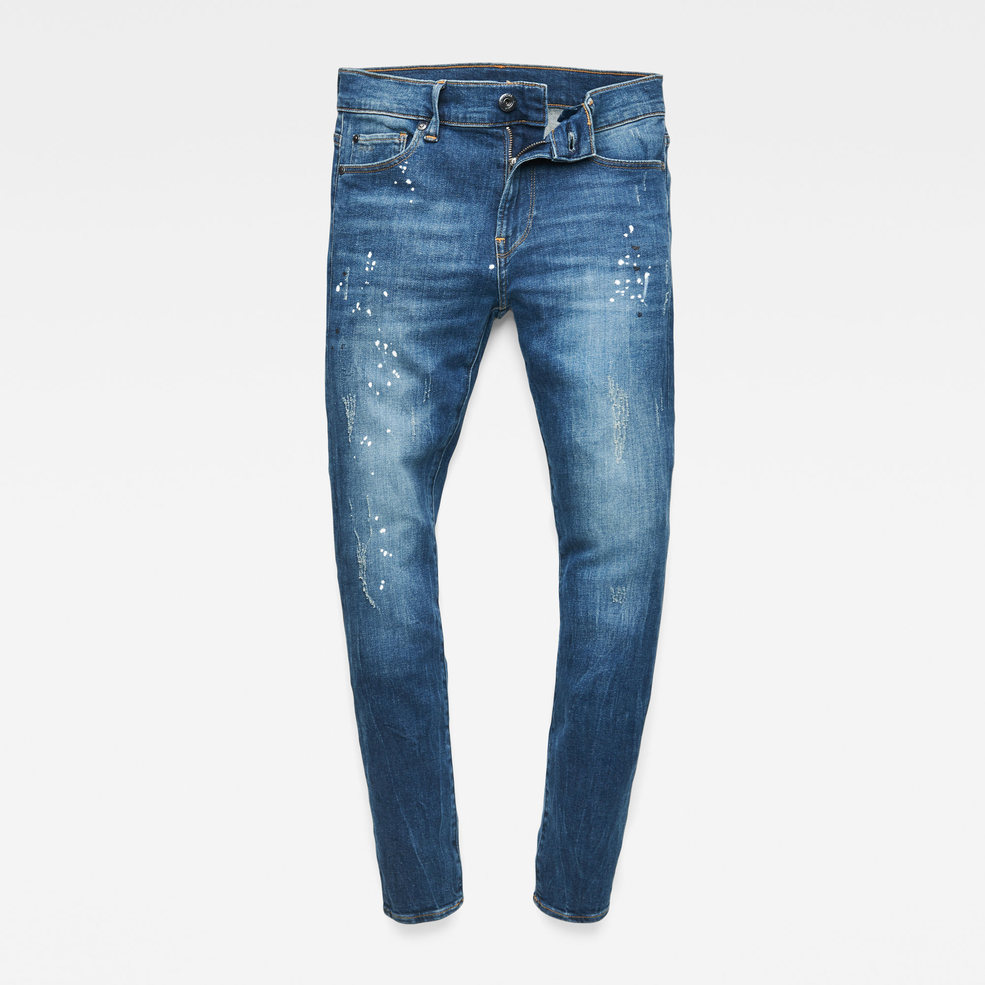 G-Star RAW Jongens 3301 Skinny jeans Blauw