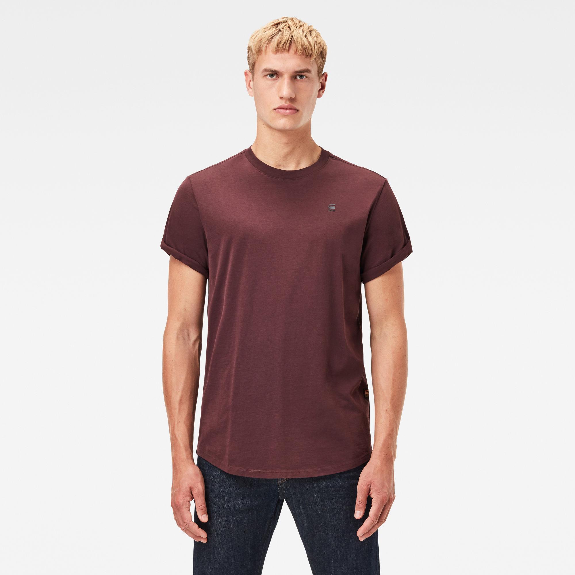 G-Star RAW Hombre Camiseta Lash Morado
